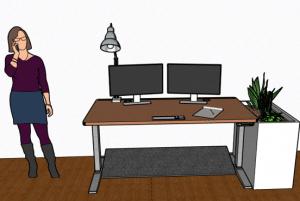 Représentation du GEEC-Desk dans son contexte