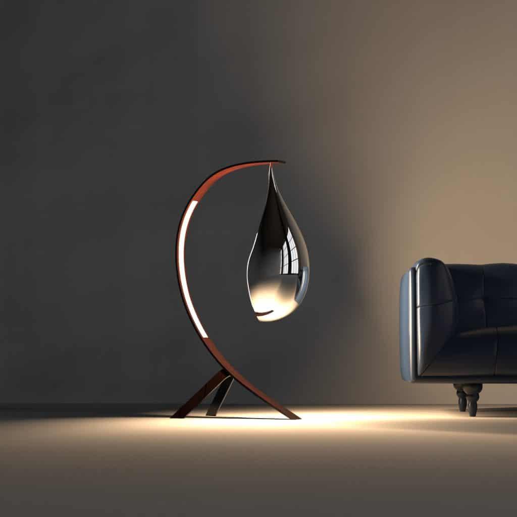 Image de mise en situation du luminaire pour en saisir au mieux l'échelle.